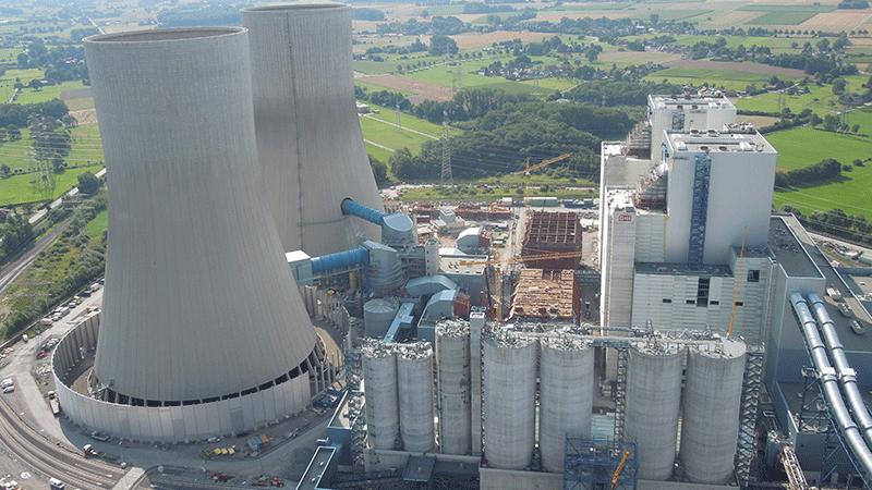 Neubau Kraftwerk Westfalen